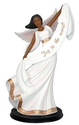 Joy to the World Angel Figurine