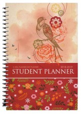 Well-Planned Day Student Planner (Floral Style July 2018 -  June 2019) - Slightly Imperfect