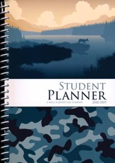 Well-Planned Day Student Planner  (Tech Style, July 2018 -  June 2019)