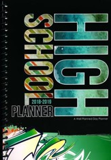 A Well-Planned Day High School 1 Year Planner (July 2018 -  June 2019)