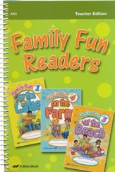 Abeka Family Fun Readers Teacher  Edition