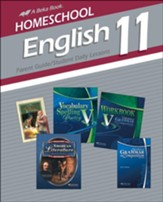 Abeka Homeschool English 11 Parent  Guide/Student Daily  Lessons