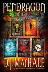 Pendragon Books 6-10: The Rivers of Zadaa; The Quillan Games; The Pilgrims of Rayne; Raven Rise; The Soldiers of Halla - eBook
