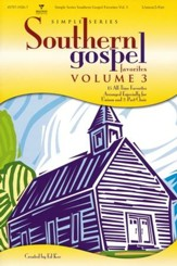 Simple Series Southern Gospel Favorites, Volume 3