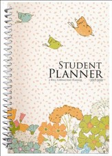 Well-Planned Day Student Planner (Floral Style July 2017 -  June 2018)