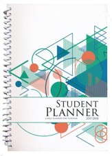 Well-Planned Day Student Planner (Tech Style, July 2017 -  June 2018)