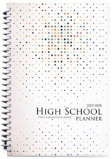 A Well-Planned Day High School 1 Year Planner (July 2017 -  June 2018)