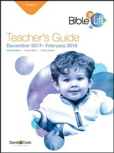 Bible-in-Life/Echoes Toddler Teacher's Guide, Winter 2017-18