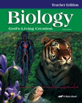 Abeka Biology: God's Living Creation Teacher Edition
