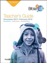 Bible-in-Life Early Elementary Teacher's Guide, Winter 2016-17