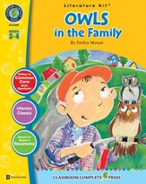 Owls in the Family (Farley Mowat) Literature Kit