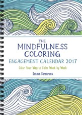 The Mindfulness Coloring Engagement Calendar 2017