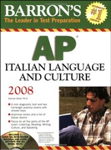 AP Italian Language & Culture with Audio CDs