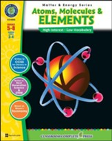 Atoms, Molecules & Elements Grades  5-8