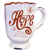 Hope, May the God of Hope Fill You With Joy Mug