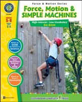 Force, Motion & Simple Machines Big Book Grades 5-8