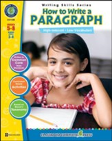 How to Write a Paragraph, Grades 5-8