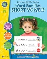 Word Families: Short Vowels Grades K-1