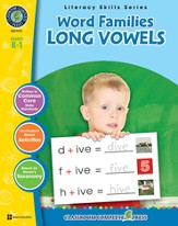 Word Families: Long Vowels Grades K-1