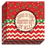Jesus is the Greatest, Canvas Plaque