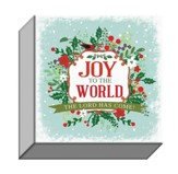 Joy to the World, Canvas Plaque