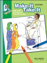 Echoes Early Elementary Make-It Take-It (Craft Book), Spring 2017