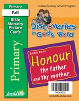 Discoveries in God's Word Primary (Grades 1-2) Mini Memory Verse Cards