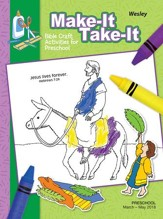 Wesley Preschool Make It/Take It Craft Book, Spring 2018
