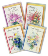 Easter Cards, Bible With Floral