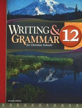 BJU Writing & Grammar Grade 12  Student Worktext, Second Edition