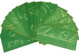 Cursive Writing Wall Cards