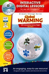 Global Warming Big Box Interactive Digital Lessons on CD-ROM Grades 3-8