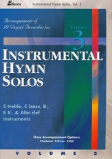 Instrumental Hymn Solos, Vol. 3, Book
