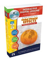 Global Warming: Effects Interactive Digital Lessons on CD-ROM Grades 3-8