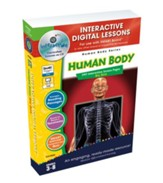 Human Body Big Box Interactive  Digital Lessons on CD-ROM Grades 3-8