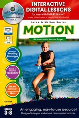 Motion Interactive Digital Lessons  on CD-ROM Grades 3-8