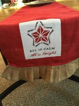 All is Calm, All is Bright Table Runner
