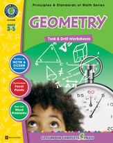 Geometry Task & Drill Sheets Grades 3-5