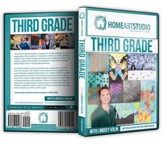 Home Art Studio on DVD & DVD-ROM: 3rd Grade