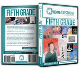 Home Art Studio on DVD & DVD-ROM: 5th Grade