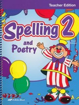 Abeka Spelling and Poetry 2 Teacher Edition (Third Edition)