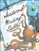 Abeka Seatwork Writing Tablet Grade  2