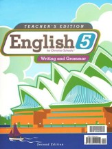 BJU English Grade 5 Teacher's Edition (Second Edition)