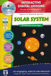Interactive Digital Lessons: Solar System, Grades 5-8