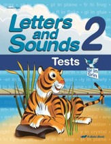 Abeka Letters and Sounds 2 Student Test Book