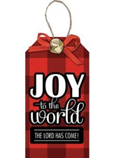 Joy to The World, Christmas Tag Ornament