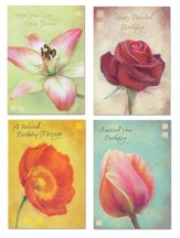 Cherished Belated Birthday Cards, Box of 12