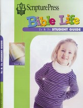 Scripture Press 2s & 3s Bible Life Student Book, Spring 2017 - Slightly Imperfect