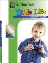 Scripture Press: 2s & 3s 'Bible Life' Student Book, Spring 2018
