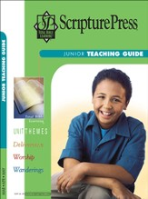 Scripture Press Junior Grades 5 & 6, Teaching Guide, Spring 2017 - Slightly Imperfect